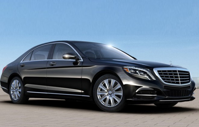 The New Mercedes S550 Sedan